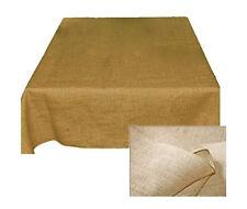 Tablecloth Burlap Natural Square 60 Inch By Broward Linens