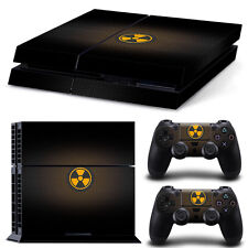 Sony PS4 PlayStation 4 Skin Design Sticker Screen Protector Set - Nuclear 3