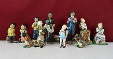 Lot of 11 Gort Bone China Company Figurines