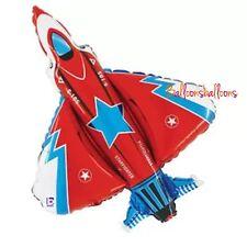 "40"" 101cm Superfighter Plane Aeroplane Balloon F35 Jet Military RAF Party"