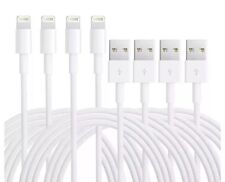 4-Pack Lightning USB Data Sync Cord Charger Cable for Apple iPhone 5 6 S 7 Plus