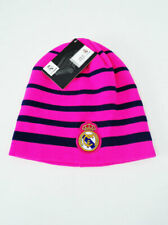 Real Madrid FC BEANIE Sports Soccer Cap Knit Hat Neon Pink New