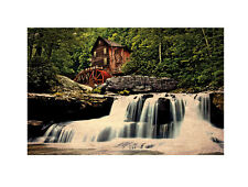 Old Mill Lighted Picture w 6 hour timer Radiance Lighted Canvas 72087 NEW