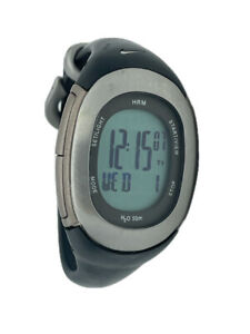 NIKE Women's Imara HRM Digital LCD Quartz Chronograph Sports Watch Black
