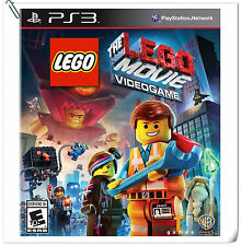 PS3 The LEGO Movie Videogame SONY PLAYSTATION Warner Home Video Action Games