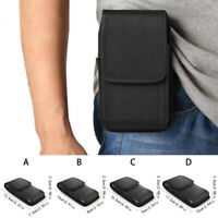 Universal Belt Hook Pouch Bag Nylon For Mobile Cell Phone Case Cover Holster