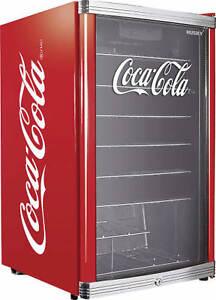 Cubes High-Cube Coca-Cola Kühlschrank Coca Cola Design HC 166 Glaskühlschrank