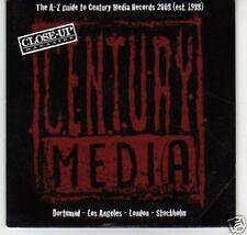 (K692) A-Z Guide of Century Media Records 2008 - DJ CD