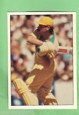 1985 SCANLENS CRICKET STICKER #132  DAVID BOON, AUSTRALIA