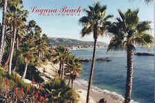 Postcard CA California Laguna Beach Orange County Shoreline The Rockpile MINT