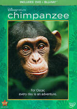 Disneynature Chimpanzee (NEW & SEALED Two-Disc Blu-ray/DVD Combo)FS