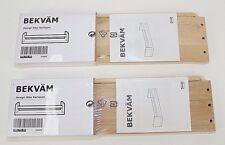 Two IKEA Bekvam Spice Racks Book Shelf for Children's Books Multi Purpose