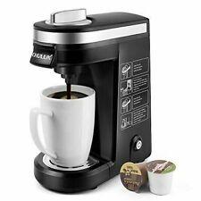 K Cup Single Serve Coffee Maker Black Machine Brewer Automatic Kitchen Keurig
