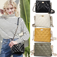 Small Crossbody Chain Bags for Women Purses Fashion PU Leather Shoulder Bag US