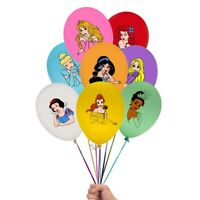 "8 X 12"" DISNEY PRINCESS  Latex Balloons Party Decoration - Birthday Party"