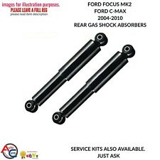 FORD FOCUS MK2 & C-MAX 04-10 NEW REAR GAS SHOCK ABSORBER SHOCKERS