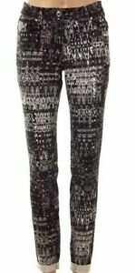 New Womens Summer Floral Skinny Fit Stretch Formal Casual Trousers
