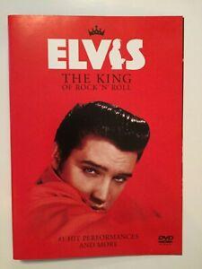 Elvis The King of Rock N Roll Music DVD