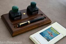 ONOTO WALNUT DESK TRAY - Desktop storage for your Onoto pen & accessories