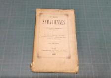Fernand PHILIPPE - Etapes Sahariennes. ed A. Jourdan 1880