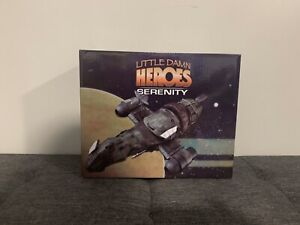 Little Damn HEROES Firefly SERENITY Ship 1/400 Scale NEW