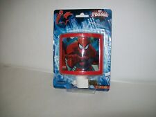 Marvel Ultimate Spiderman Night Light Boys Girls Play BedRoom 120v Bulb Incl.