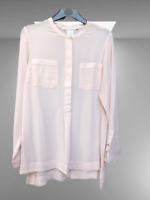 New Dorothy Perkins Ladies Blouse in Peach Size 12 14 16 18 20 BNWT