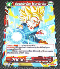 2x Unbreakable Super Saiyan Son Goku SD2-03 ST Dragon Ball Super TCG NEAR MINT