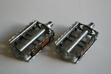 "Vintage Union U41 Steel Pedals Set 9/16"" with Reflectors"
