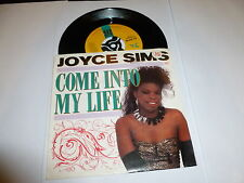 "JOYCE SIMS - Come Into My Life - 1987 US 2-track 7"" Juke Box vinyl single"