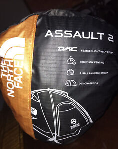 THE NORTH FACE Assault 2 Summit Series 2 Person Tent TNF 4 Season Brand New NWT