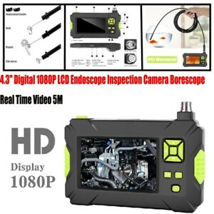 4.3inch Digital 1080P LCD Endoscope Inspection Camera Borescope Real Time Video