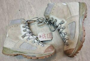 Original British Army Issue Leather Lowa Desert Combat Boots Size 8 UK #224