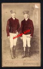 CDV-Vintage Photo Portrait-militär-soldaten-reiter-Rud.Oberst-Salzwendel