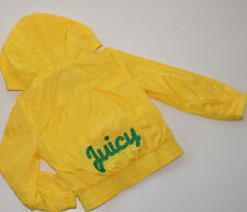 NWOT JUICY COUTURE Sweet Yellow Raincoat Jacket Girl Size 3 NEW