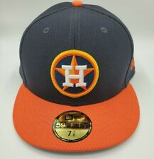 New Era Houston Astros 59Fifty 2019 Batting Practice  Fitted Hat Size 7 7/8