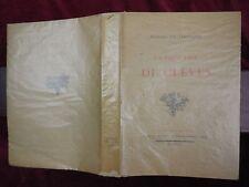 MADAME DE LAFAYETTE: LA PRINCESSE DE CLEVES/FRANCE/SCARCE 1922 1st LTD
