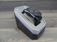 Casio MRW400H-2ATN Multi Dial (Day/Date/Time) rotating blue bezel 100m WR black