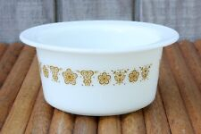 Vintage Pyrex Butterfly Gold Margarine Dish #75 LQQK!!!