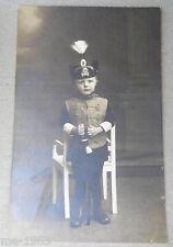 original Foto Kind in Uniform  Braunschweig  Husar Husaren Rgt. 17