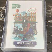 Jaden McDaniels 2020-21 Panini Prizm Draft Picks Downtown RC SP 🔥📈🏀💥