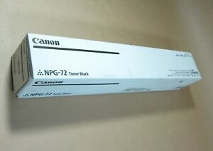 [1453*] CANON NPG-72 (TG-72) BLACK TONER ( RRP>$249 )