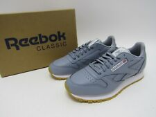 Reebok Classic Leather Gum (METEOR GREY/WHITE-GUM) Men's Shoes