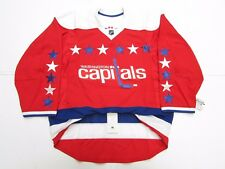 WASHINGTON CAPITALS AUTHENTIC NEW THIRD TEAM ISSUED REEBOK EDGE 2.0 JERSEY SZ 54