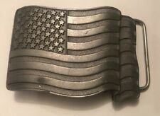Buckles Of America Masterpiece Collection BA-253 US Flag Belt Buckle