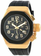 Swiss Legend 10542-YG-01-BB Mens Trimix Diver Chronograph Watch BLACK NEW in Box