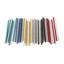 30pcs 2.54mm Pitch Pin Header Strip Single Row 40 Pin Connector for PCB Board