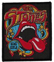 The Rolling Stones patche officiel écusson licence patch à coudre groupe pop
