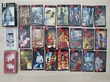 """Rare """"GOTHIC TAROT of VAMPIRES"""" Oracle Cards set by Lo Scarabeo."""