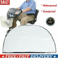 Elderly Mobility Scooter Control Panel Tiller Rain Waterproof Dust Proof Cover